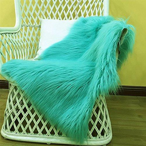 Decosy Ultra Soft Faux Sheepskin Furry Area Rugs 2 Ft X 3
