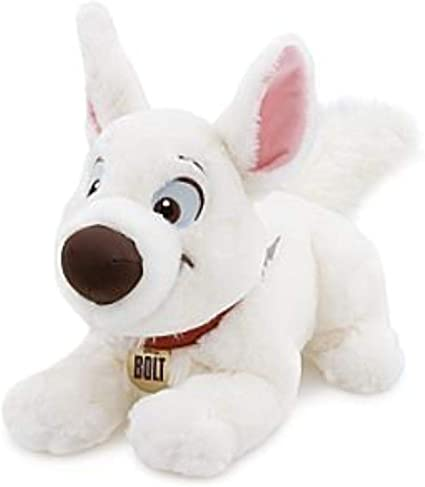 Amazon Com Disney Bolt Plush 14 Toys Games