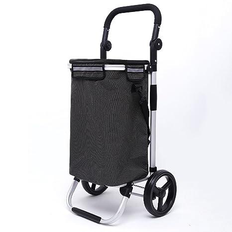 Carro de la Compra Plegable de aleación de Aluminio | Carro de la Compra Carrito 2