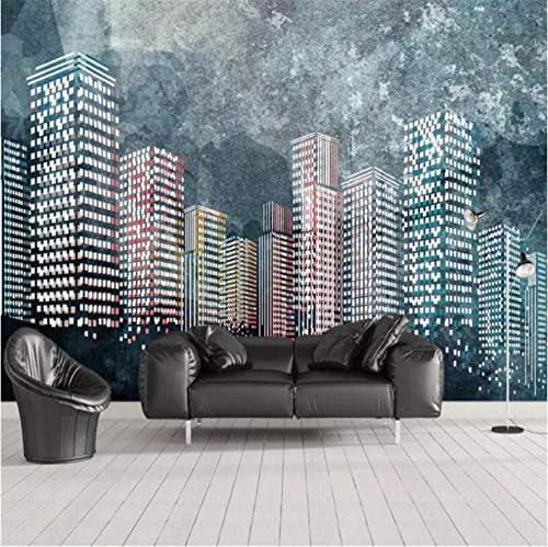 Hershop カスタム写真の壁紙ヨーロッパのレトロな黒白い都市の建物3Dテレビの背景壁紙寝室のリビングルームのオフィス壁画B