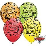 10 Luftballons Cars Lightning McQueen 25cm
