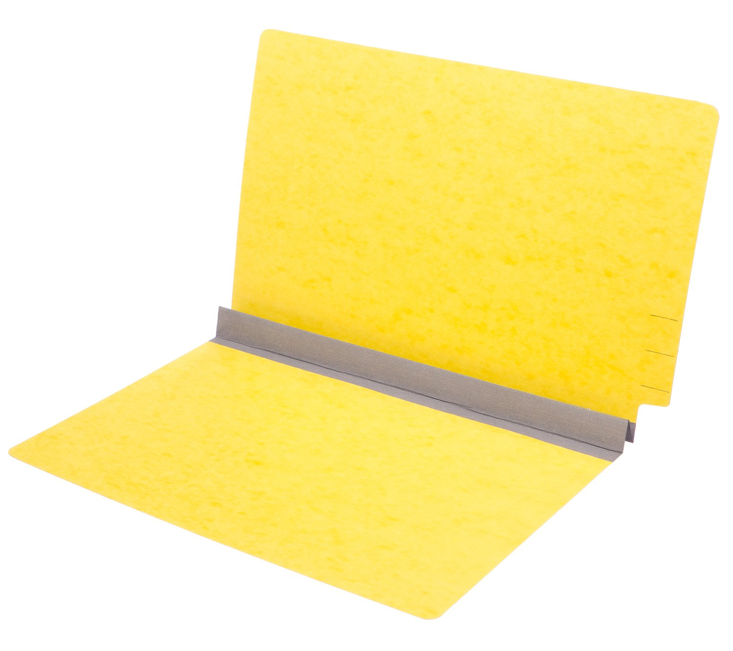 TAB Pressboard Expansion Folder 2'' Expansion Legal Size Canary 25/Box by TAB