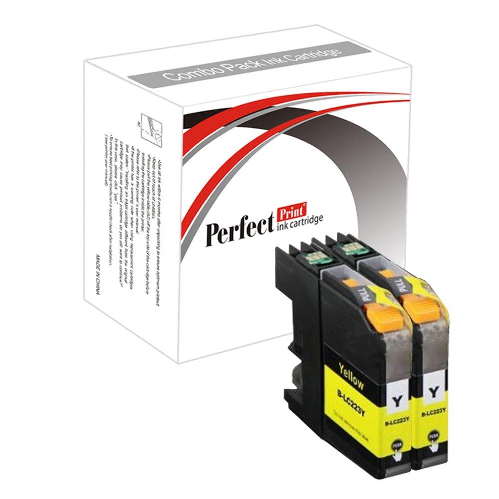 PerfectPrint - 2 amarillo Cartucho de tinta Compatible sustituir ...