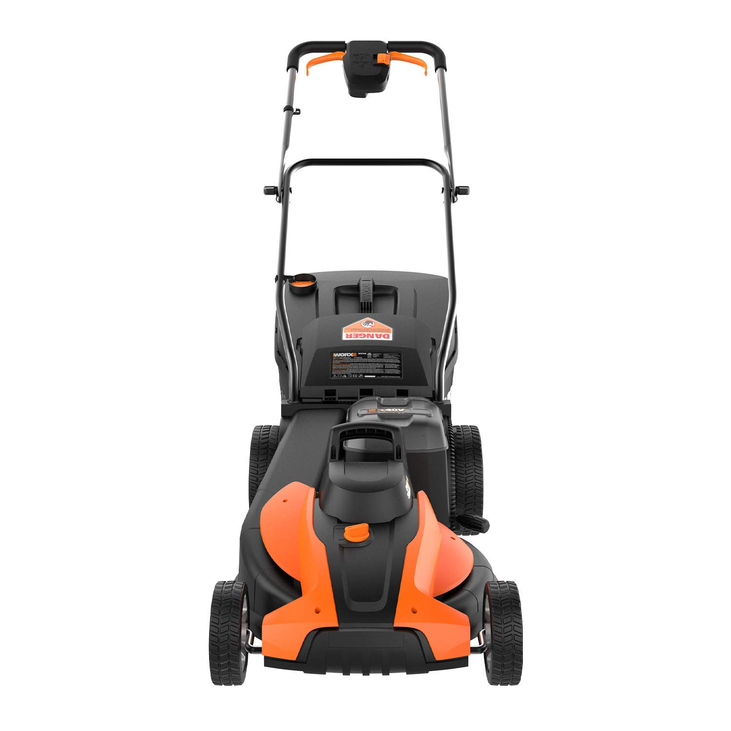 WORX WG744 40V Power Share 4.0 Ah 17 Lawn Mower w Mulching 2x20V Batteries