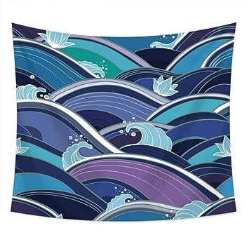 Axiba Tapices,Flor de mar Pintura de la Toalla de Playa Foto Mantel 150 * 230cm: Amazon.es: Hogar