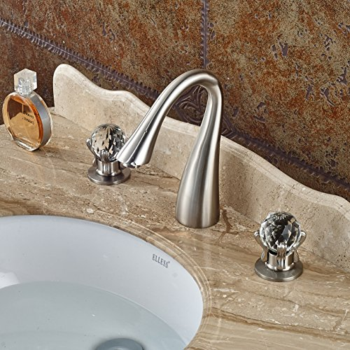 Crystal Handles For Bathroom Faucets Amazon Com