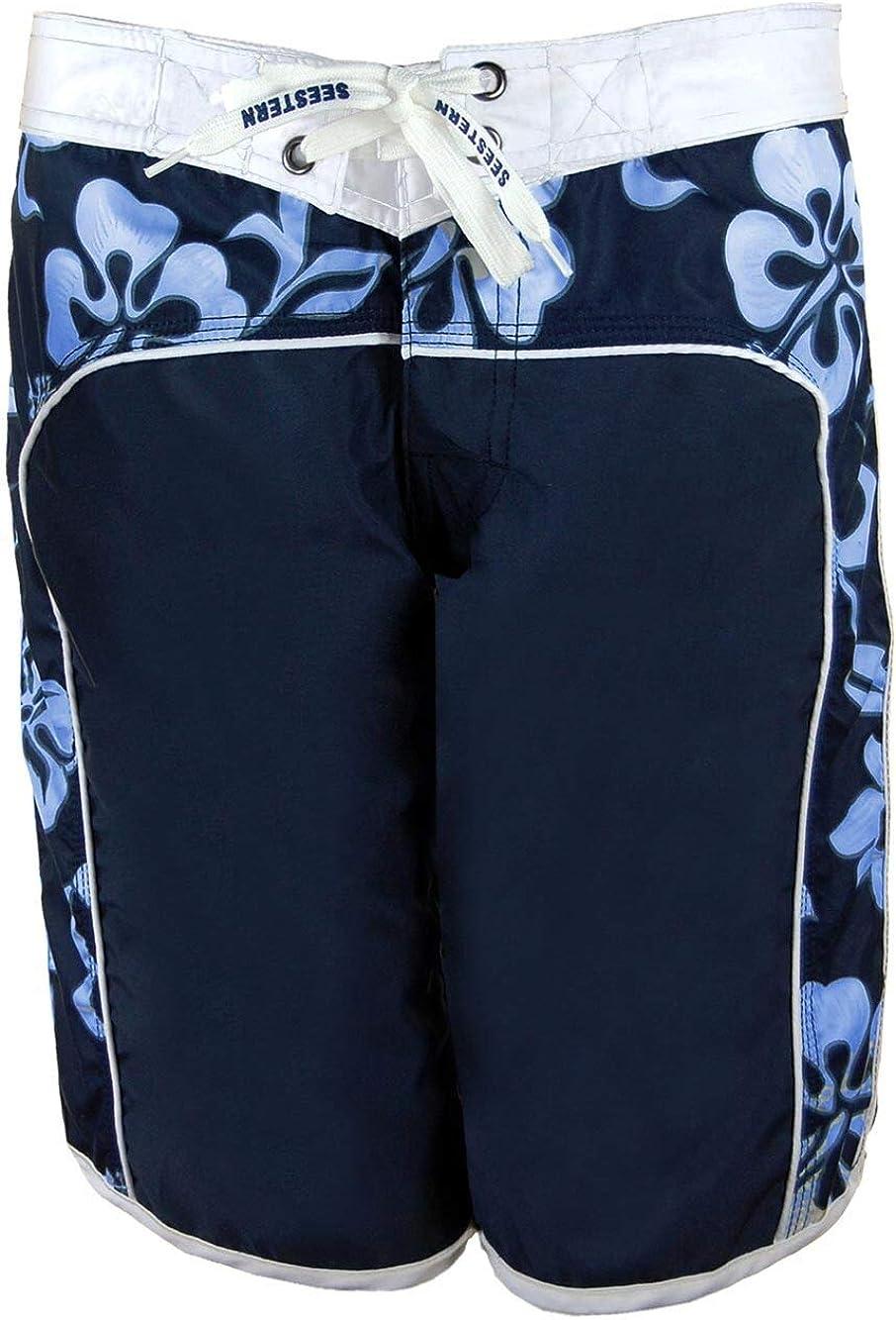 SEESTERN Damen Boardshorts Surfshorts Boardshort Surf Short Bade Shorts XS-XXXL