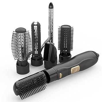 YAN&WEI Secador De Pelo De Pelo Rizado Styling Seis En Uno Negativo Ion Hair Care Plancha