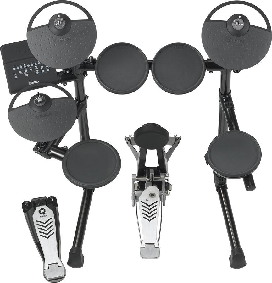 Yamaha dtx 450k electronic drum kit musical for Yamaha dtx review