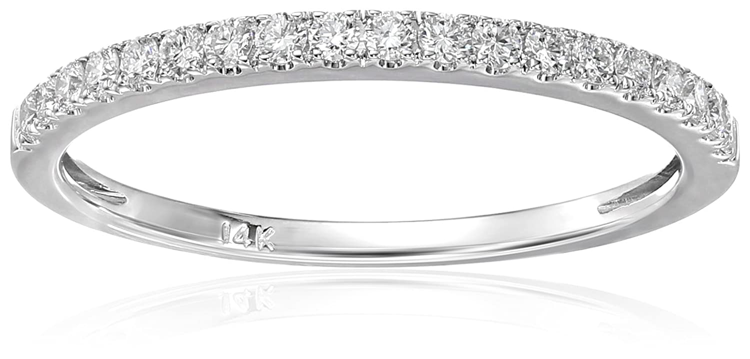 gold ring half her diamond for white with matching pave thin band u curved diamonds bands wedding eternity