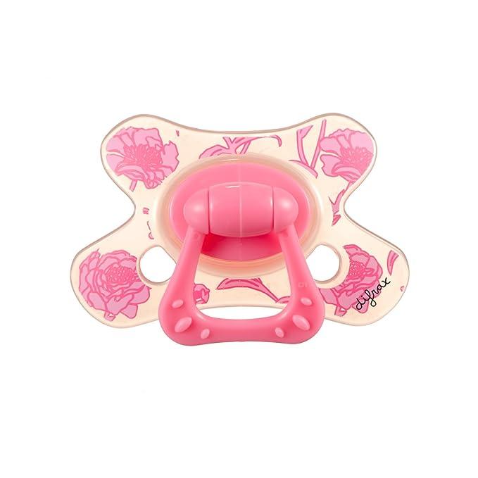Difrax 800 - Chupete Dental B03 Para Niñas De 6 Meses Rosa ...