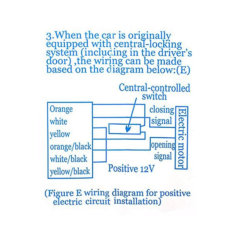 Keyless Open Electrely Universal Auto Zentral Elektronik In The Electric Circuit Diagram Below Possible Locations