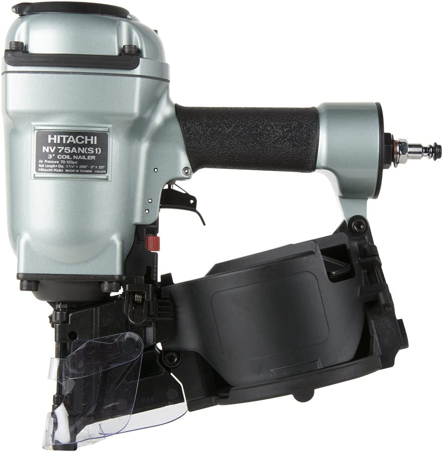 S1 3 Coil Pallet Nailer Hitachi NV75AN Flat Nose