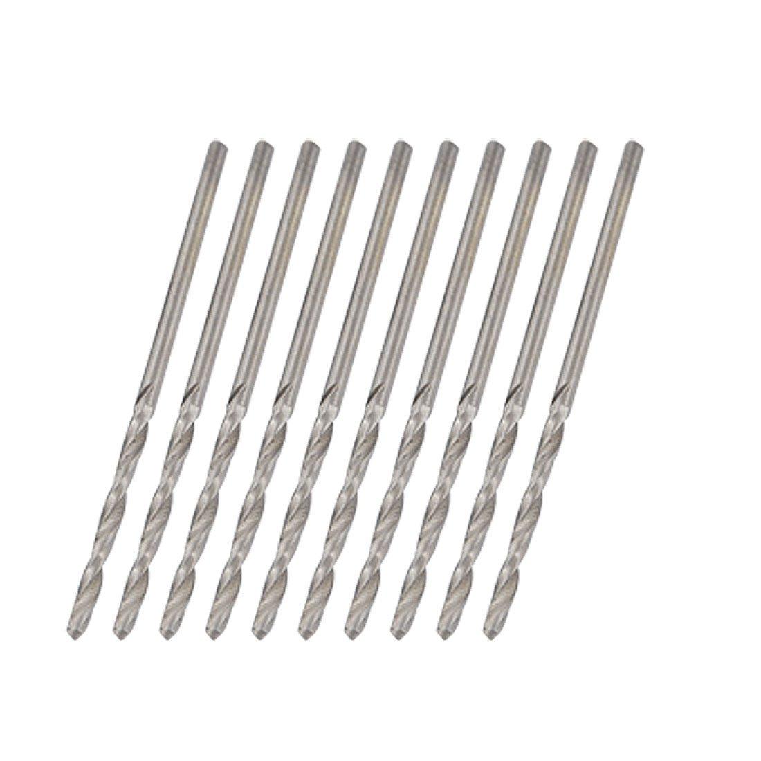 10 piezas 1, 6 mm diá metro 42 mm longitud Brocas en espiral de diseñ o en espiral 6 mm diámetro 42 mm longitud Brocas en espiral de diseño en espiral Sourcingmap a10081600ux0035