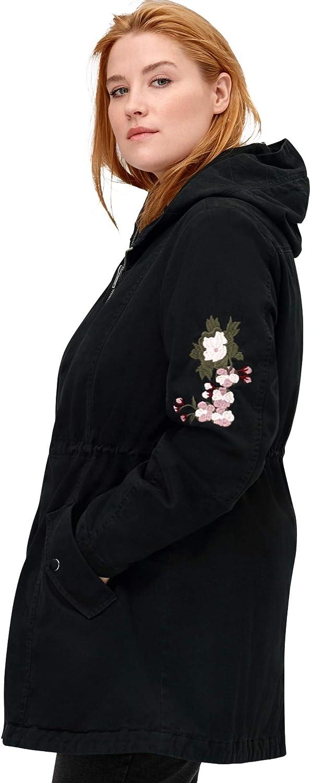 ellos Womens Plus Size Bonded High-Low Jacket