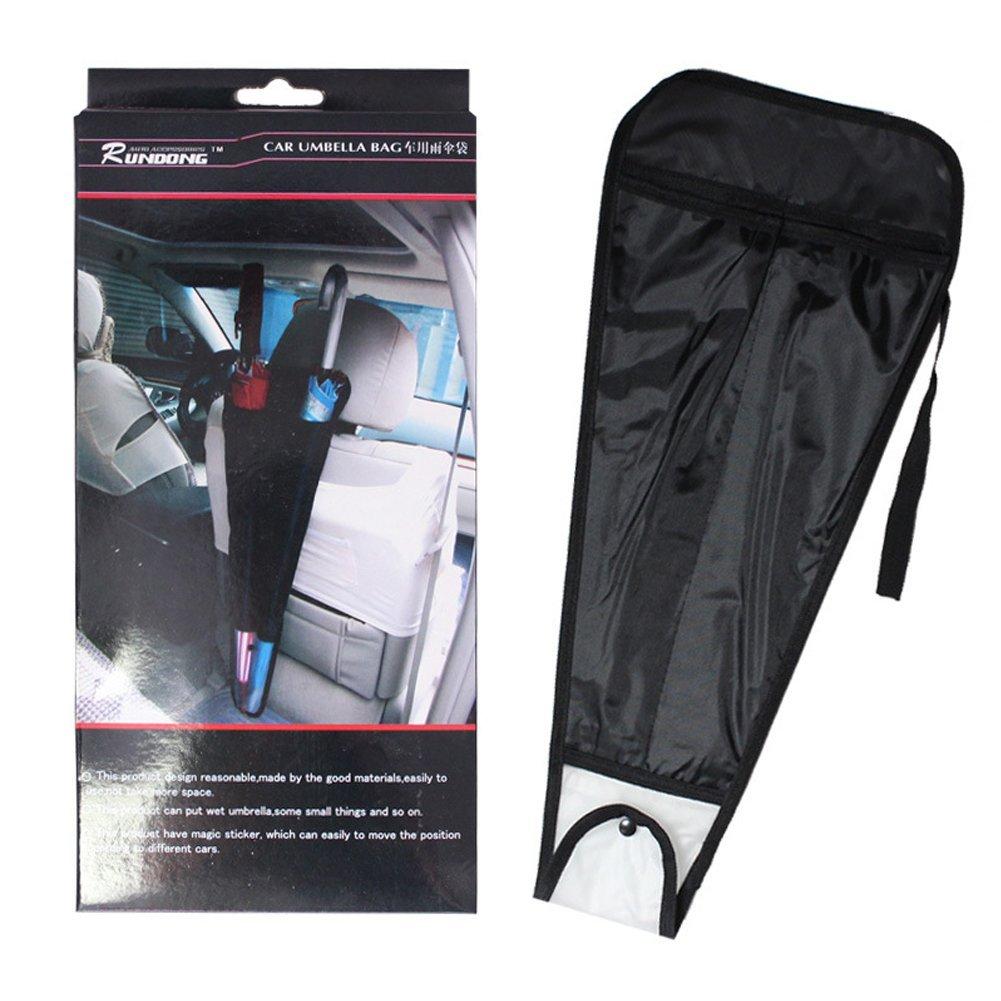 Hersent Pack of 2 Multi-Purpose Car Truck Back Seat Umbrella Holder Waterproof Wet Umbrella Sheath Storage Bag Organizer for Two Umbrellas (HZC159) (1)