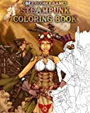 Steampunk Coloring Book: by Uber Goober Games