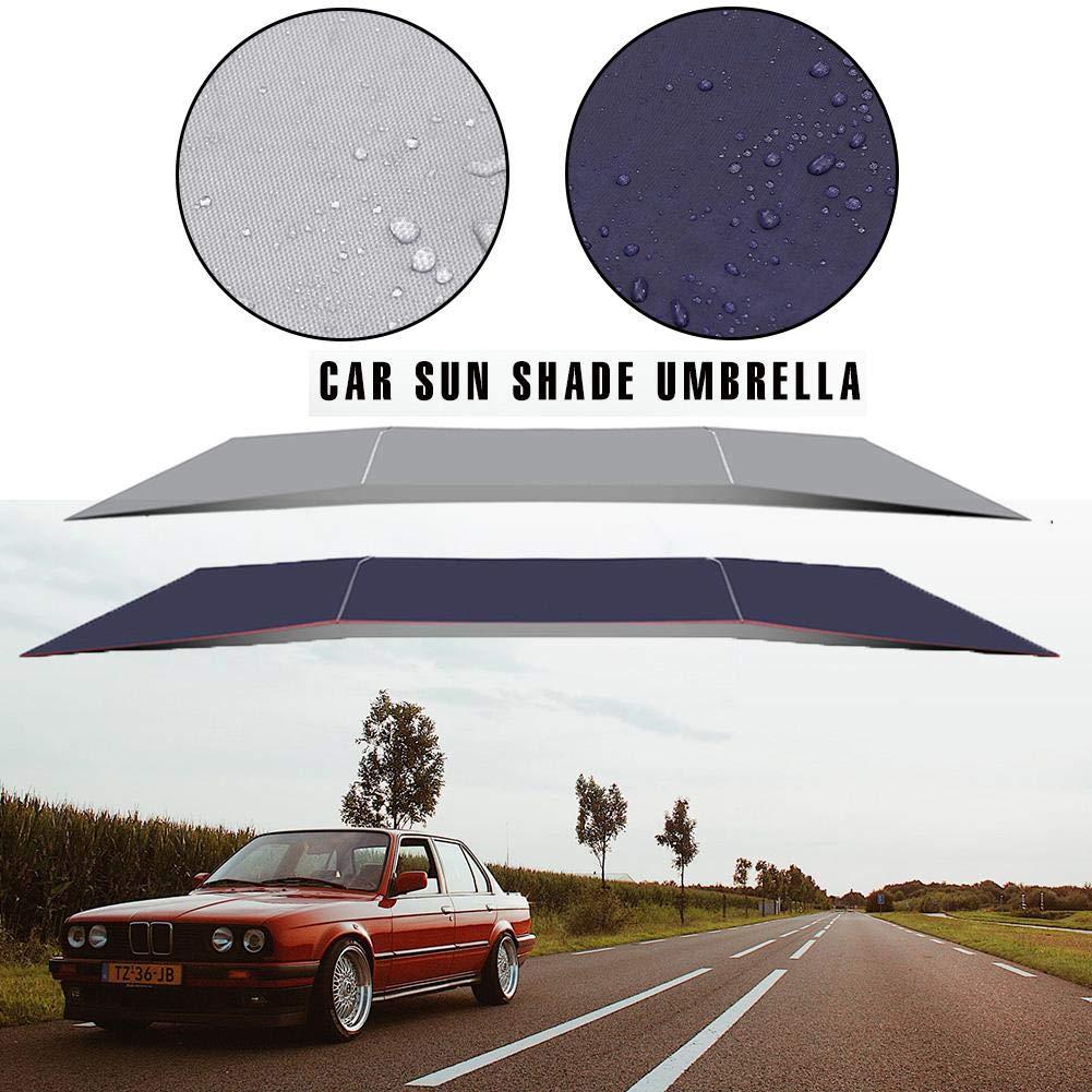 Class-Z Car Umbrella Sonnenschirm und Regenschutz f/ürs Auto Schirm Schutz vor Dreck Staub einfache Anbringung Universal Auto Sonnenschirm Sonnenschutz Abdeckung