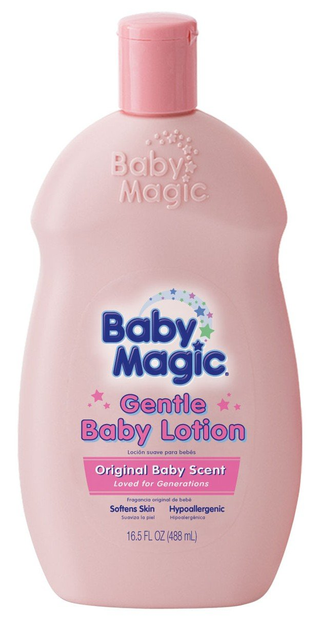 Baby Magic Baby Lotion Gentle 16.5oz Baby Scent (3 Pack)