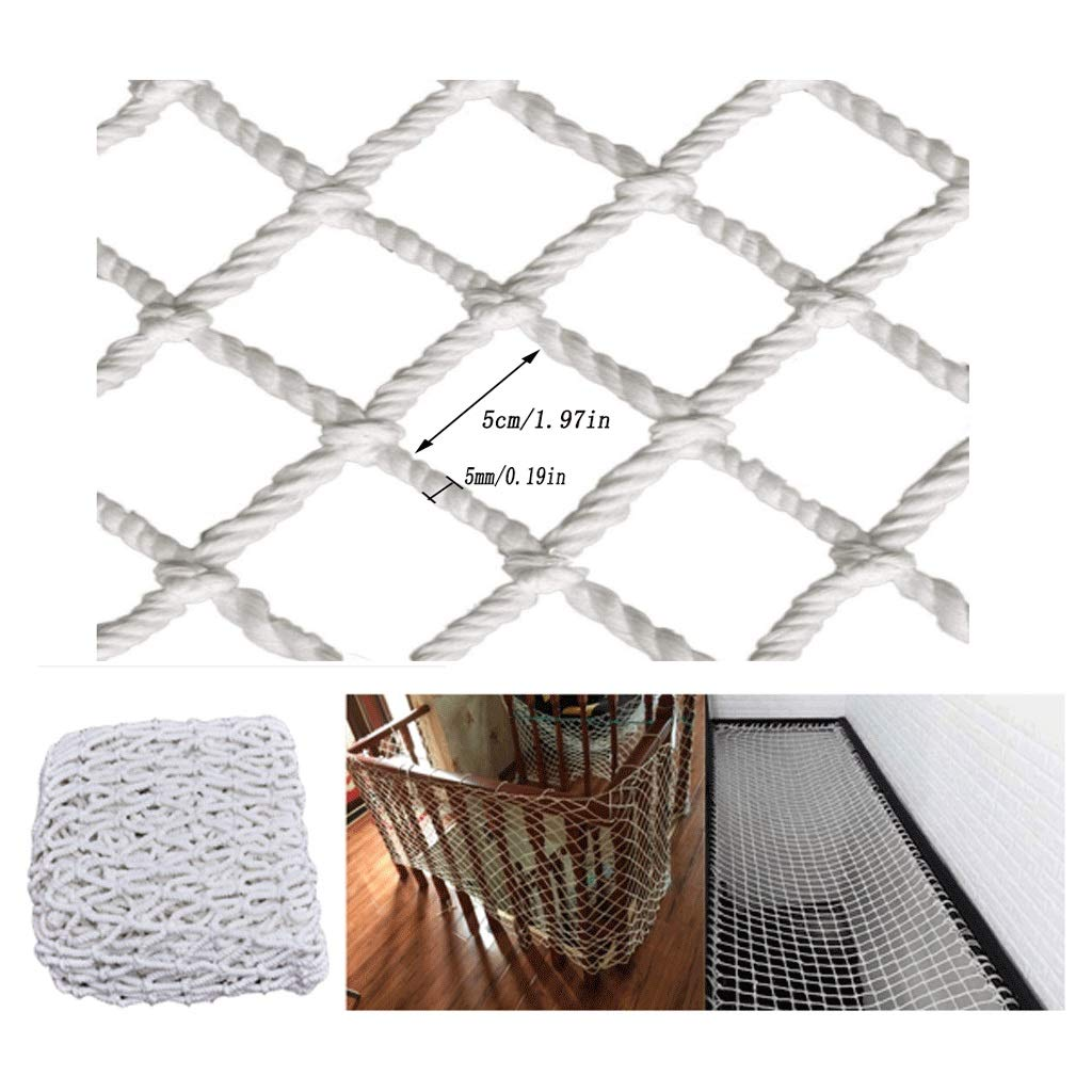 2 3m Building Shatter-Resistant Net Detachable Balcony and Stairs Protection Net Children/Toys/Pet Safety Net Portable Folding Pet Isolation Net 3 6m (Size : 25m) by Myself-safe net