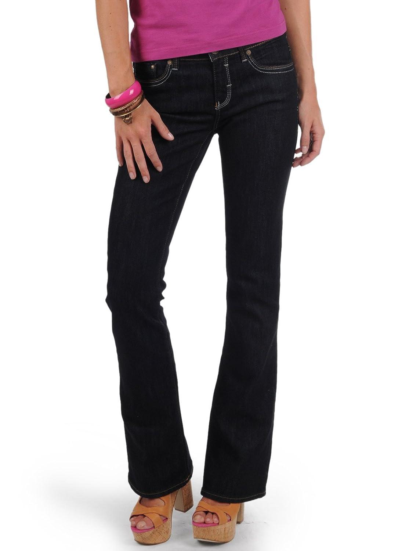 Mavi Women's Jeans Flare, 1013613128 Mid Rise, Boot Cut, Rynse Uptown - rinse uptown blue, 32W / 34L