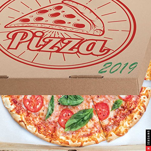 Pizza! 2019 Wall Calendar by Universe Publishing