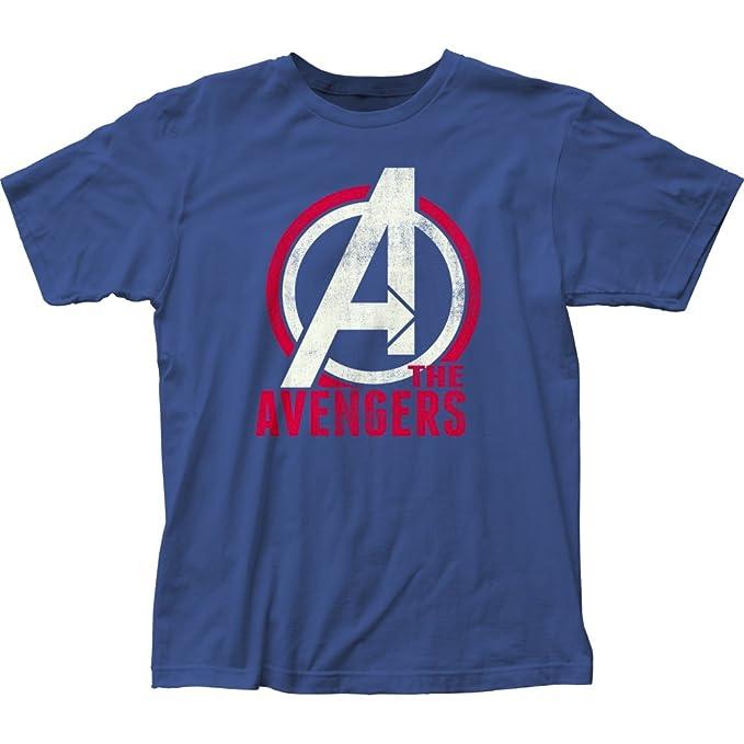 new photos suitable for men/women 100% authenticated Amazon.com: Avengers- Distressed Logo T-Shirt Size S: Clothing