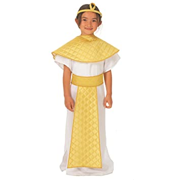 Isis Egyptian Goddess Costume for kids 8-10 years  sc 1 st  Amazon UK & Isis Egyptian Goddess Costume for kids 8-10 years: Charlie Crow ...