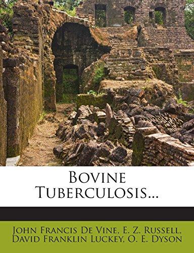 Bovine Tuberculosis...