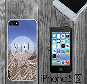Be Free Cute Vintage Quote Custom made Case/Cover/Skin FOR iPhone 5/5s
