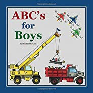 ABC's for Boys (Alphabet Book, Baby Book, Children's Book, Toddl
