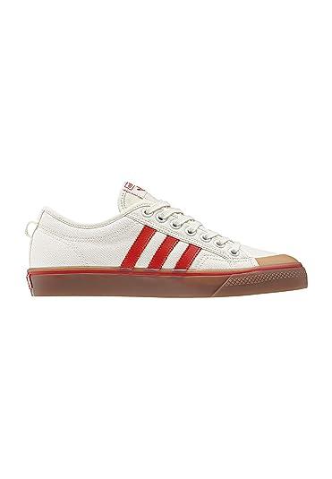 size 40 71d85 d854d adidas Originals Sneaker Nizza CQ2326 Beige Rot, Schuhgröße37 13