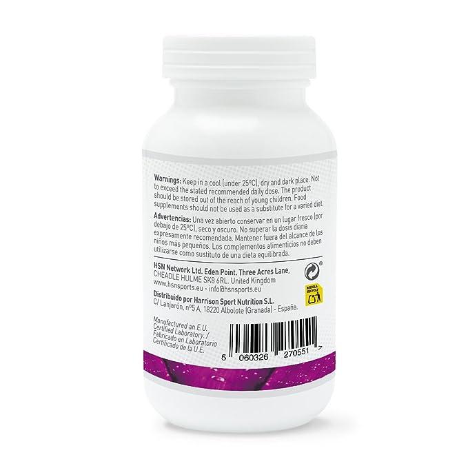 Cafeína Natural de HSN Essentials 200mg - Extracción de Granos de Café Verde, máxima energía - 120 cápsulas vegetales: Amazon.es: Alimentación y bebidas
