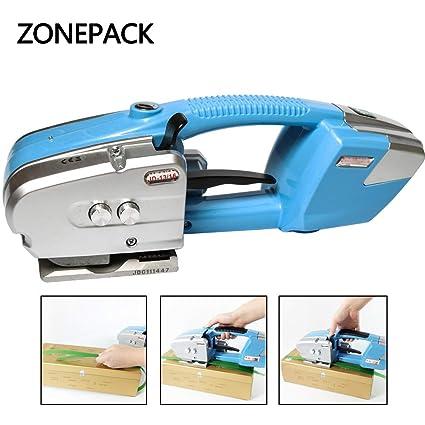 Zonepack - Herramienta de correas de plástico para correas eléctricas de plástico PET y PP de