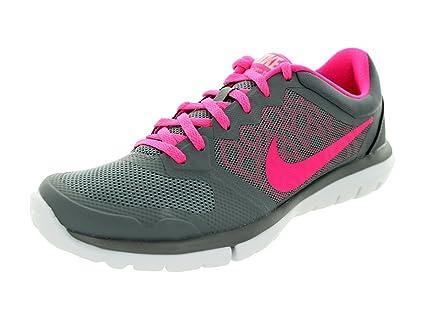 official photos 5e44c d9bfc Nike Flex 2015 Run Women Laufschuhe Cool Grey-Pink Pow-White - 36,