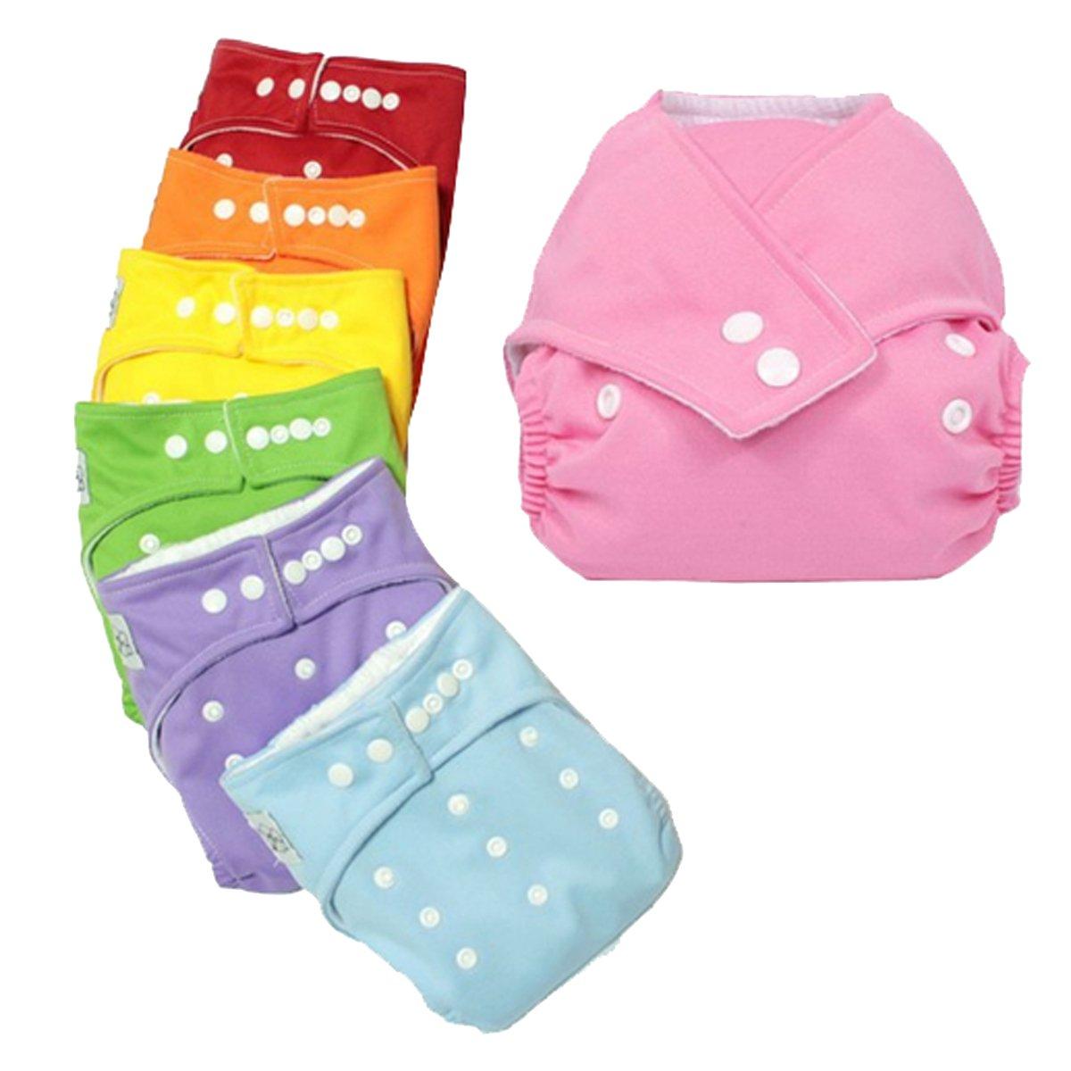 AUBIG 20pcs Bébé Enfant Pantalon Couche Bébé Toilettes de formation épaise Ajustable