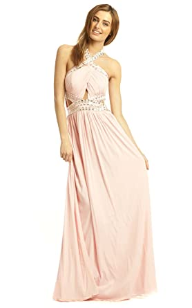 9656c6954df IKRUSH Women s Polly Evening Maxi Dress Size in Pink Size 16 at ...