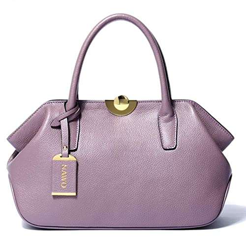 a57612b195d NAWO Women's Leather Handbags Tote Top-handle Purse Shoulder Bags On Sale