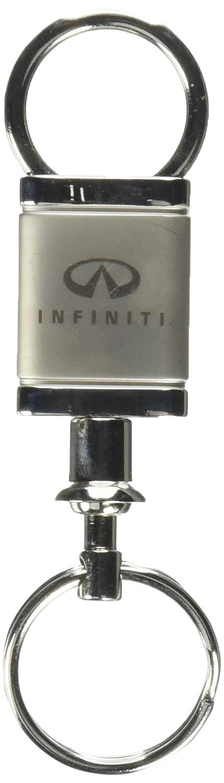 Infiniti Logo Silver Valet Key Chain Automotive Gold