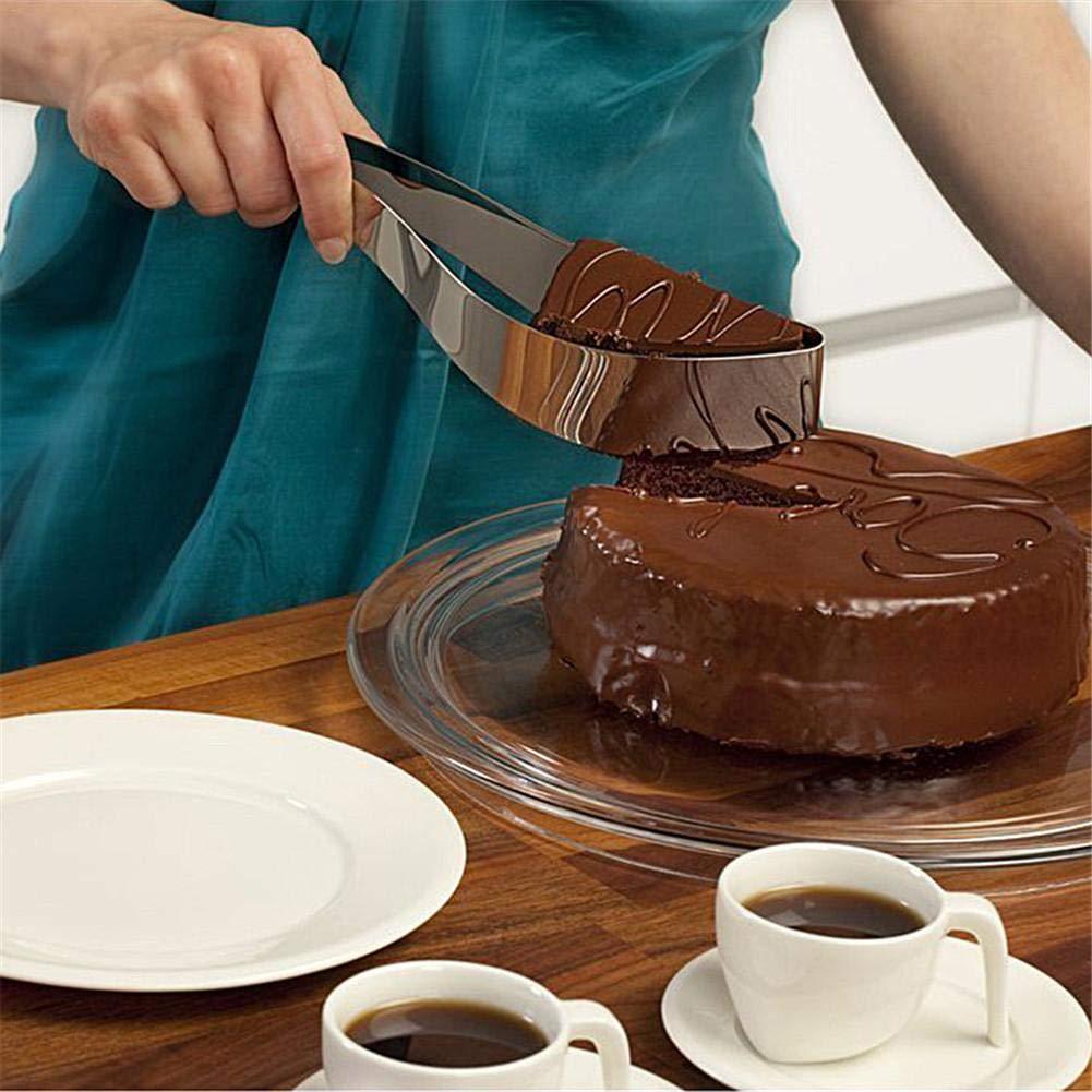 Cake Slicer Stainless Steel Cake Pastry Divider Kitchen Gadget
