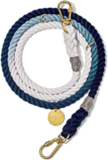 product image for Found My Animal Indigo Ombre Rope Dog Leash, Adjustable Large