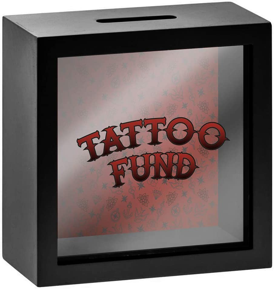 Tattoo Fund Spardoes weiß