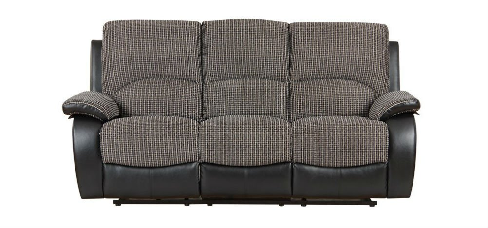 Magnificent Newport Recliner Fabric Sofa 3 Seater Grey Amazon Co Uk Bralicious Painted Fabric Chair Ideas Braliciousco
