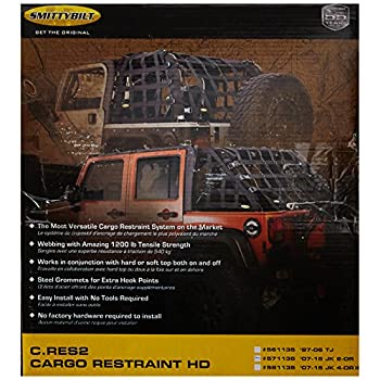 Image of Smittybilt 571135 C-RES '2 HD' Trail Net Cargo Bed Cover Accessories