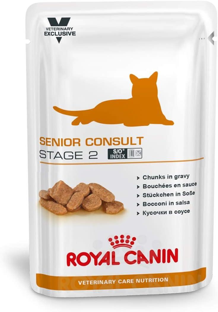 ROYAL CANIN SC Stage 2 Comida para Gatos - Paquete de 12 x 100 gr - Total: 1200 gr