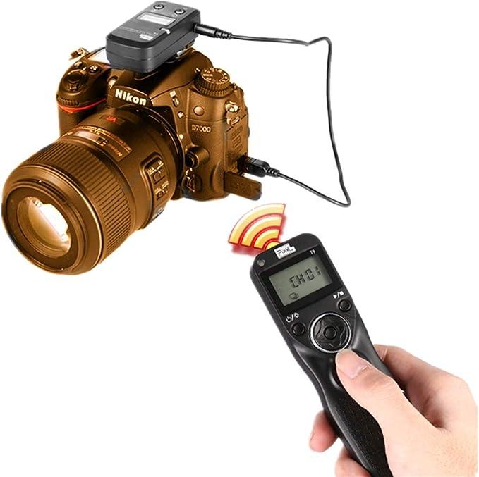 PIXEL T9-E3 / N3 LCD 2.4 GHz Control remoto del Disparador con o ...