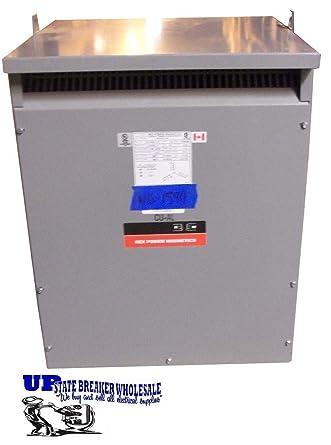 Rex 150kva Transformer 208v-240v 3 Phase Delta 230v 220v