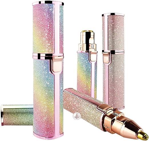ASDF Eléctrica Depiladora Cejas, 2 En 1 USB Recargable Afeitadora ...