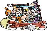 Application Flintstones Car Patch