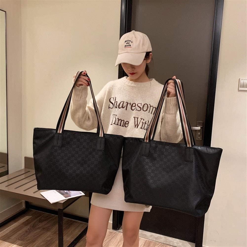 Color : Blank, Size : L JIASHANHAO Womens Bag Portable Large Capacity Fashion Lightweight